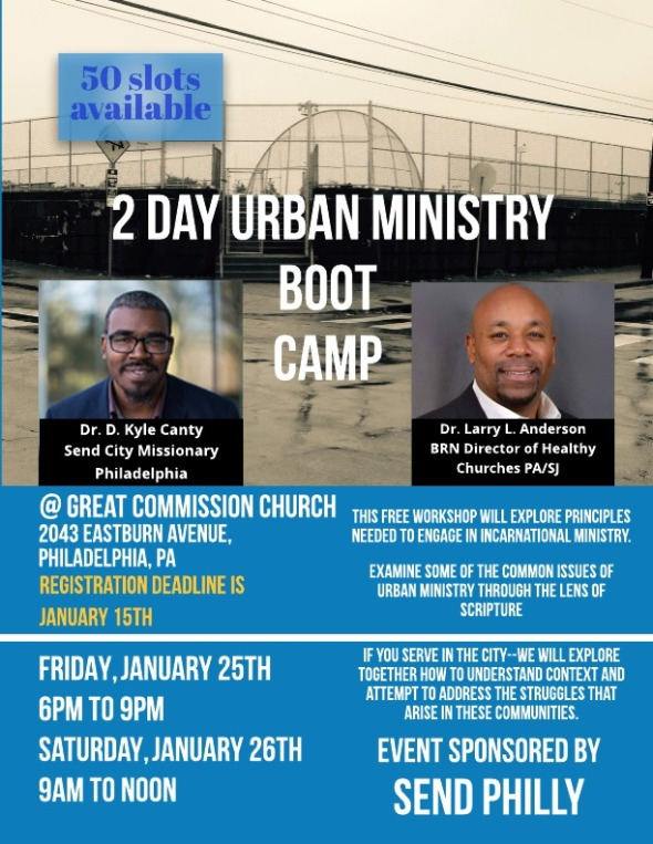 urban ministry boot camp